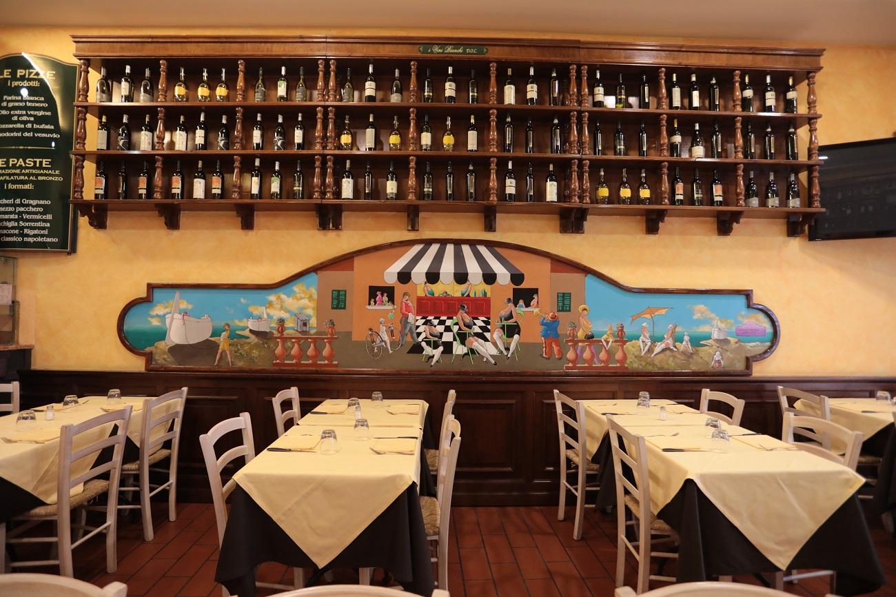 Location E Servizio Pizzeria Con Cucina Di Pesce Sui Navigli