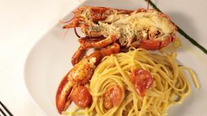 spaghetti all aragosta
